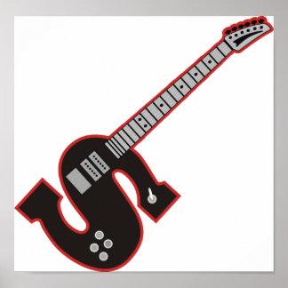 Guitarra S Póster