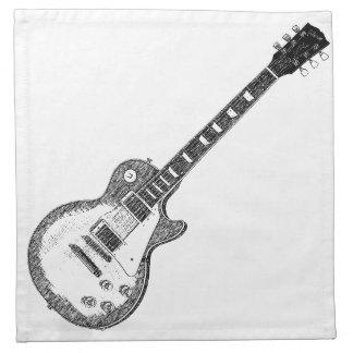 Guitarra Servilleta