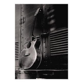 Guitarra sola arte con fotos