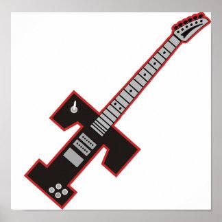 Guitarra T Póster