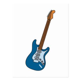 Guitarra Tarjeta Postal
