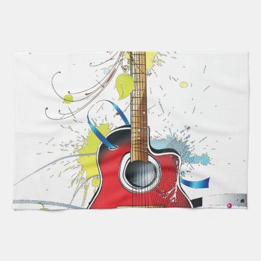 Guitarra Toallas