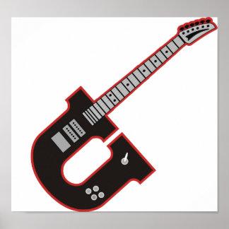 Guitarra U Póster