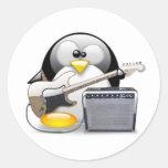 Guitarra y amplificador americanos clásicos Tux Etiqueta Redonda