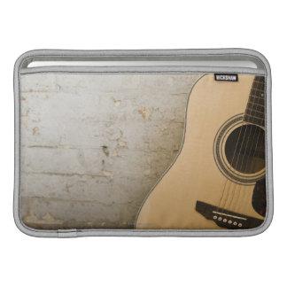 Guitarra y ladrillos funda para macbook air