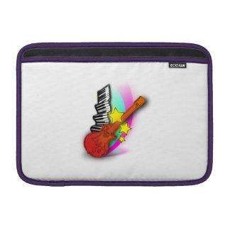 Guitarra y piano funda macbook air