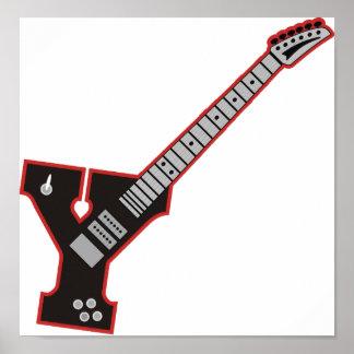 Guitarra Y Póster