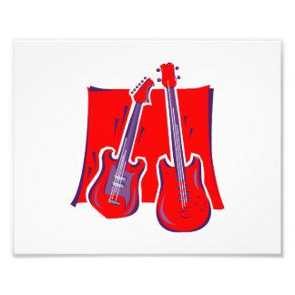 guitarra y red.png estilizado bajo arte fotográfico
