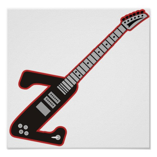 Guitarra Z Póster