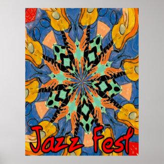 Guitarras 2 del Fest del jazz Impresiones