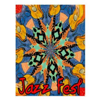 Guitarras 2 del Fest del jazz Postales
