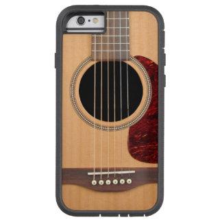 Guitarras acústica de la secuencia de Dreadnought Funda De iPhone 6 Tough Xtreme
