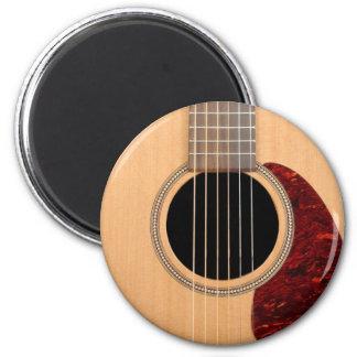 Guitarras acústica de la secuencia de Dreadnought  Imán Redondo 5 Cm