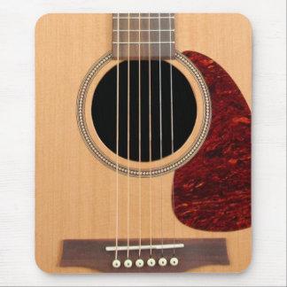 Guitarras acústica de la secuencia de Dreadnought Alfombrilla De Ratón