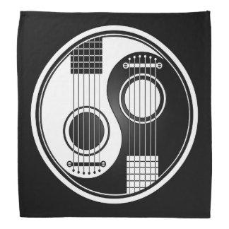 Guitarras acústicas blancas Yin Yang Bandana