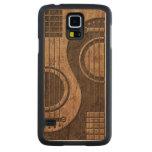 Guitarras acústicas Yin Yang con el efecto de Funda De Galaxy S5 Slim Arce