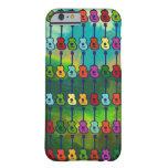 guitarras coloridas funda de iPhone 6 barely there