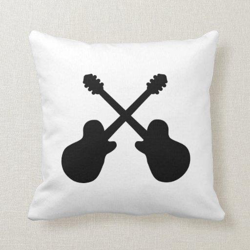 Guitarras cruzadas cojines