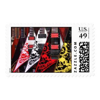 Guitarras de Jackson la colección del Bloodline Estampillas