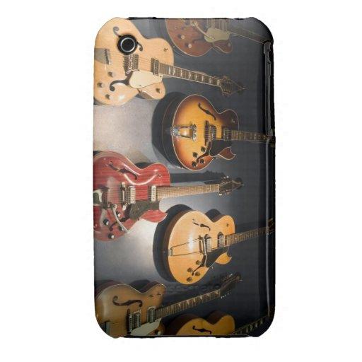 Guitarras del vintage Case-Mate iPhone 3 funda