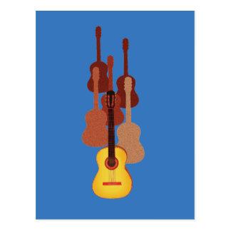 Guitarras dinámicas postal