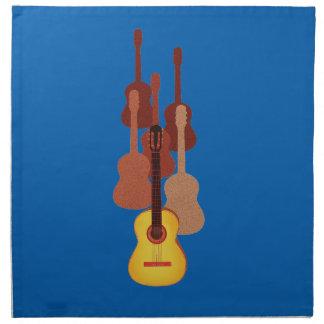 Guitarras dinámicas servilletas