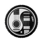 Guitarras eléctricas acústicas blancas y negras Yi Frascos De Caramelos