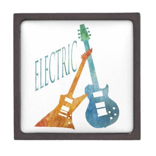 Guitarras eléctricas caja de regalo de calidad