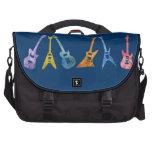 Guitarras eléctricas coloridas bolsas de portátil