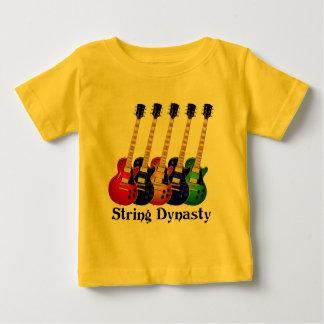 Guitarras eléctricas de la dinastía de la playera de bebé