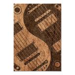 Guitarras eléctricas Yin Yang con el efecto de Invitacion Personalizada