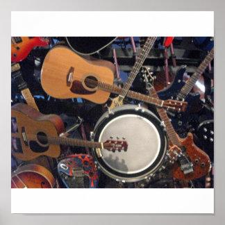 Guitarras Impresiones