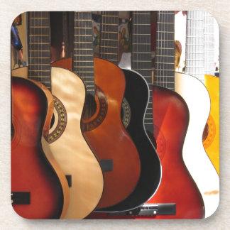 Guitarras Posavasos De Bebidas