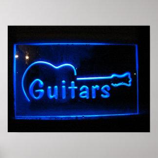 Guitarras Póster