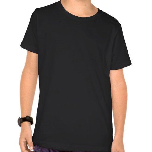 Guitarras púrpuras y negras de Yin Yang Camiseta