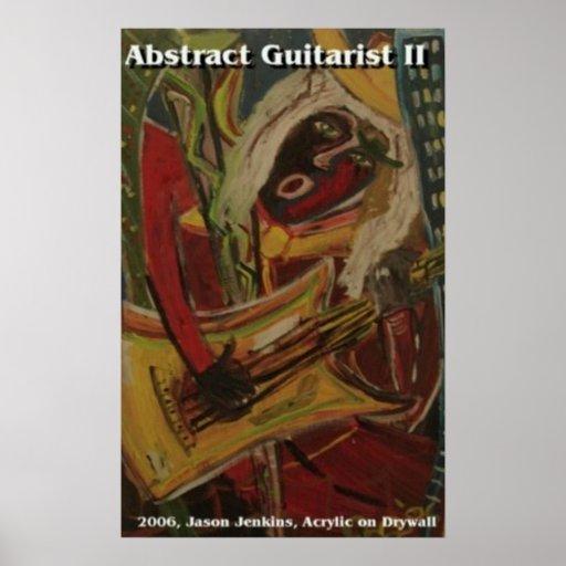 Guitarrista abstracto II Impresiones