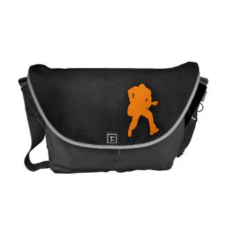 Guitarrista anaranjado bolsas de mensajeria