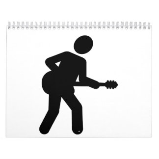Guitarrista Calendarios De Pared
