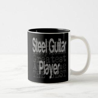Guitarrista de acero Extraordinaire Taza De Café De Dos Colores