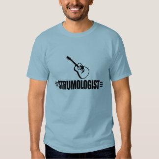 Guitarrista divertido camisas