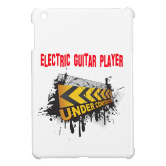 guitarrista eléctrico bajo construcción