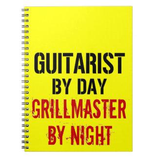 Guitarrista Grillmaster Libro De Apuntes