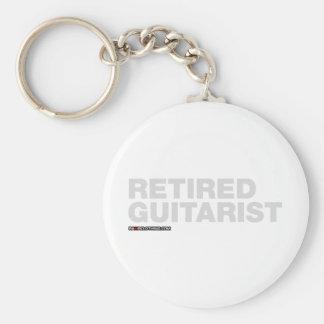 Guitarrista jubilado llaveros