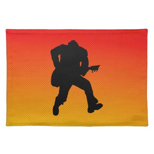 Guitarrista Manteles Individuales