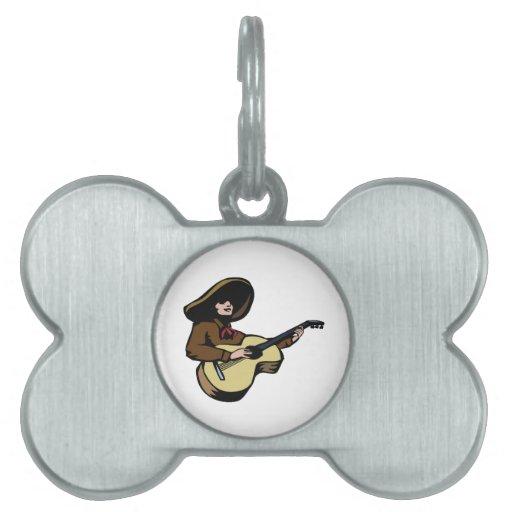 guitarrista mexicano brown.png placas de mascota