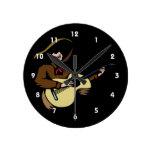 guitarrista mexicano brown.png relojes de pared