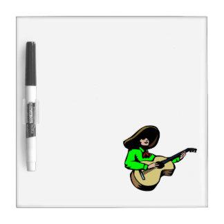 guitarrista mexicano green.png pizarras blancas de calidad