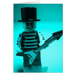 Guitarrista Minifig de encargo de Emo por Customiz Felicitaciones