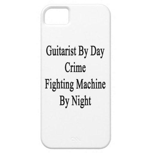 Guitarrista por la máquina que lucha del crimen de iPhone 5 cárcasa