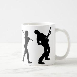 Guitarrista Tazas De Café